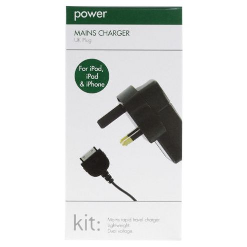 Kitpower lightweight charger for iPad/iPod/iPhone