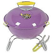 Landmann Piccolino Portable Charcoal BBQ, Lavender 31378