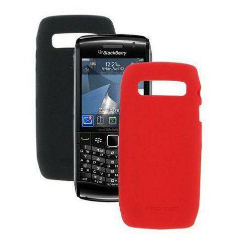 Pro-Tec Flex BlackBerry Stratus Twin Pack Skins Black/Red