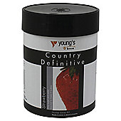 Youngs Definitive Country Strawberry Wine Kit, 6 bottles