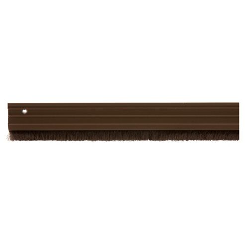 Brush Seal Around The Door Draught Brown