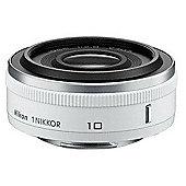 Nikon 1 NIKKOR 10mm f/2.8 Wide-angle Lens - White