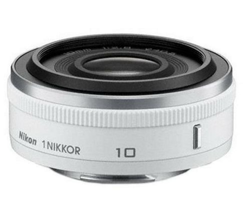 Nikon 1 NIKKOR 10mm f/2.8 Wide-angle Lens - White