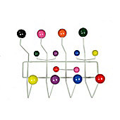 Eames Replica Hang it all Multicoloured, White Frame