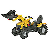 JCB 8250 V- Tronic Ride-On Tractor With Front Loader