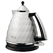 DeLonghi KBJ3001.W White Brillante Kettle