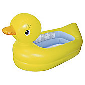 Munchkin White Hot Inflatable Duck Baby Bath Tub