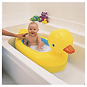 Munchkin White Hot Inflatable Duck Bath Tub