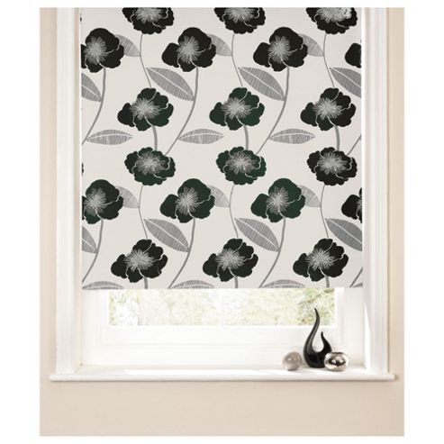 Poppy Roller Blind 180x160cm Black