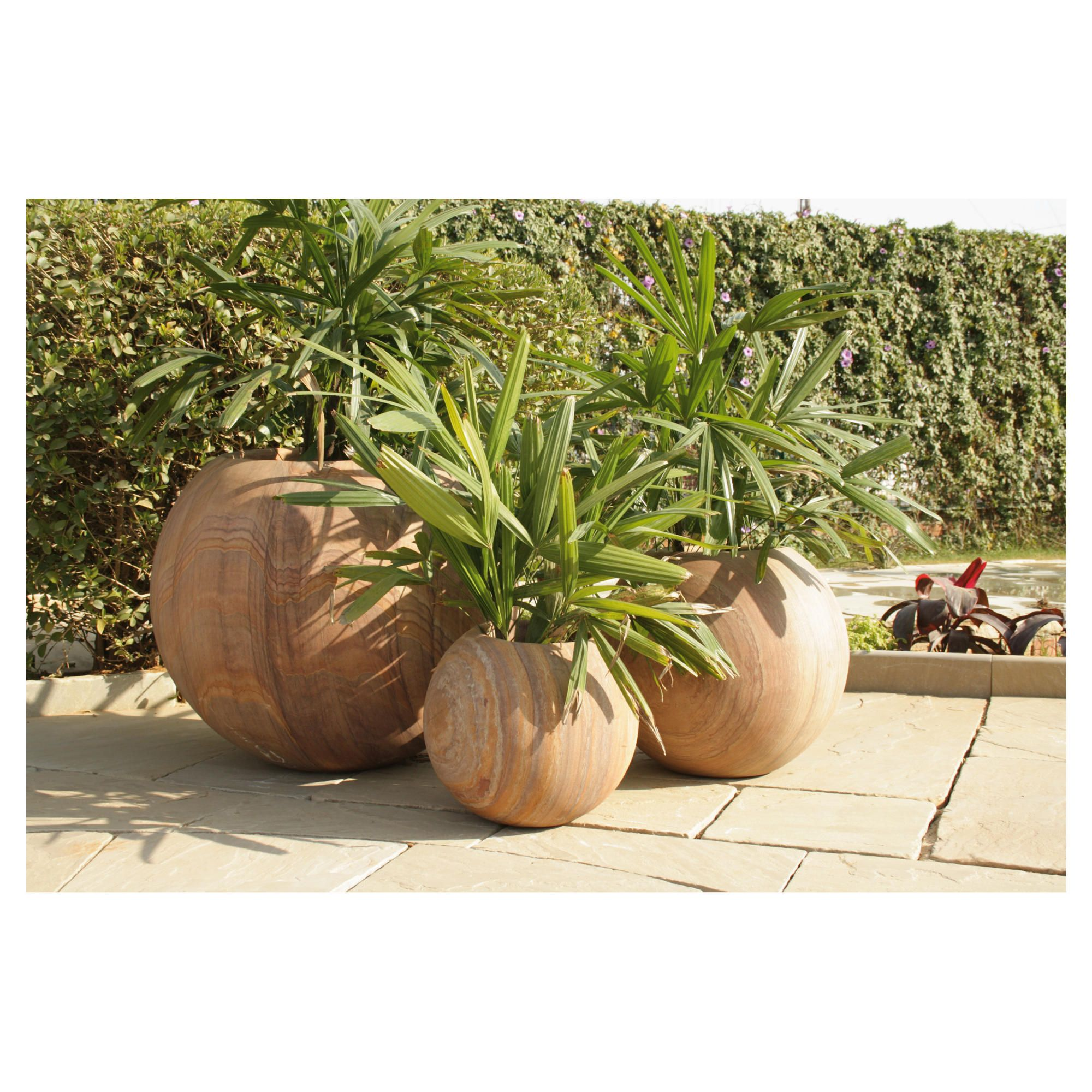 Hydrus Rainbow Stone Planter 60cm at Tescos Direct
