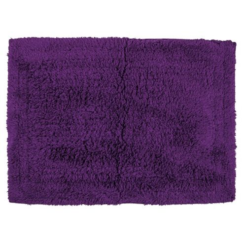 Tesco Bath Mat Purple