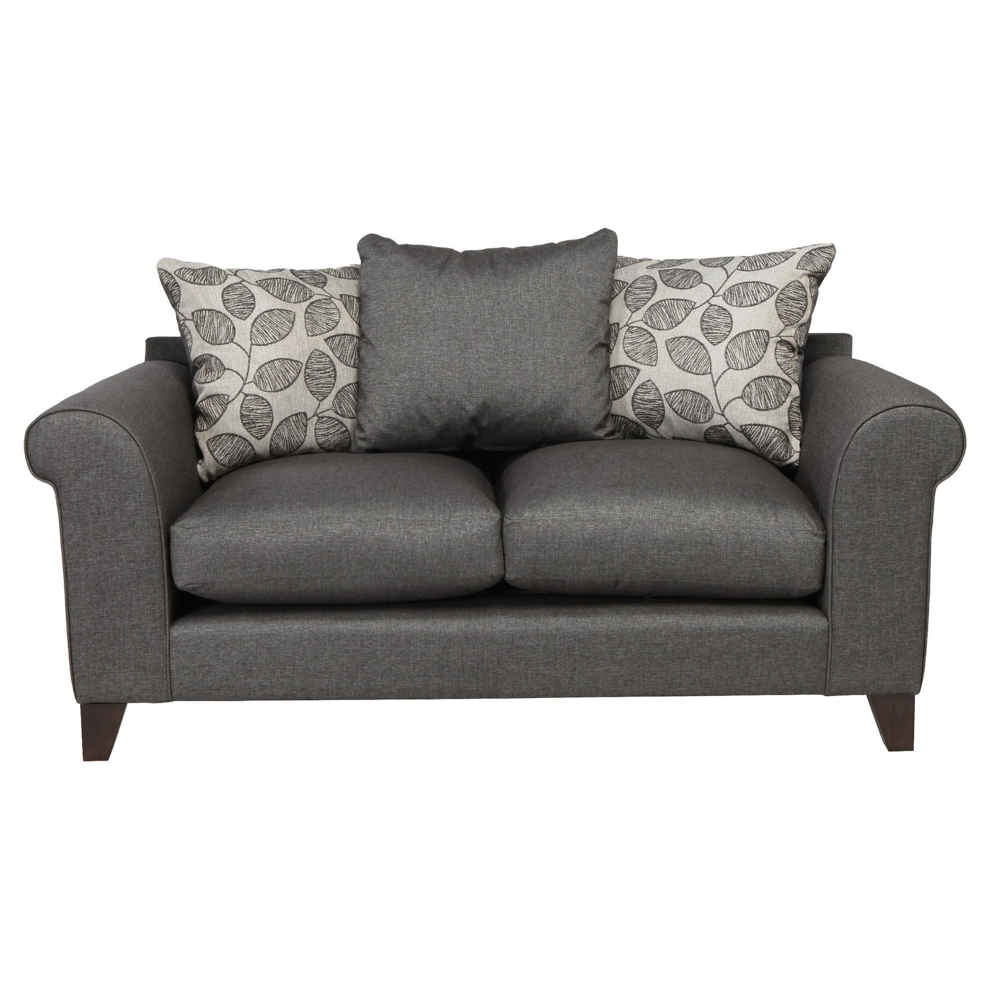 Amersham Small Scatter Back Sofa Charcoal at Tesco Direct