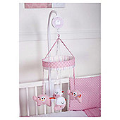 Red Kite Musical Mobile Hello Ernest, Pink