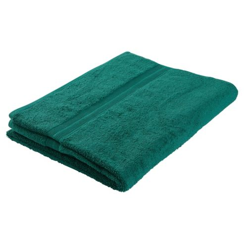 Tesco Bath Sheet Sea Green