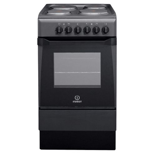Indesit Is50Eaâ Anthracite Single Electric Cooker