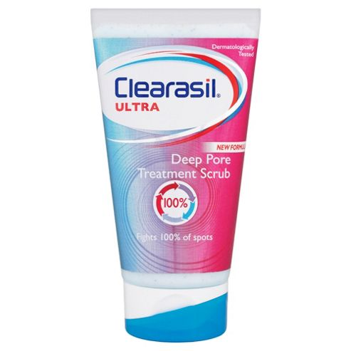 Clearasil Ultra Dual Action Scrub 125ml