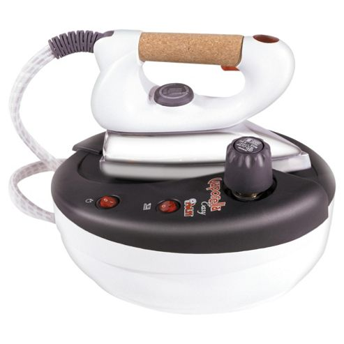 Polti Vaporella Steam Generator with Aluminium Plate - Cream