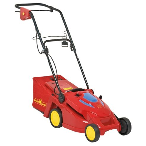 Wolf Blue Power Electric Lawnmower 34E