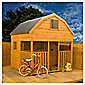 7ft x 7ft Dutch Playhouse with Veranda