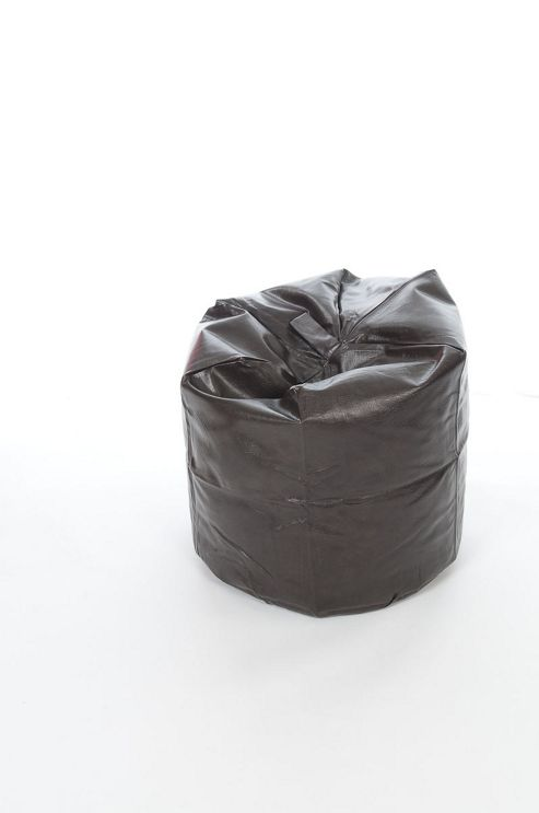 Kaikoo Faux Leather Beanbag, Brown