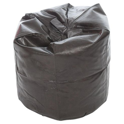 Kaikoo Faux Leather Bean Bag, Brown