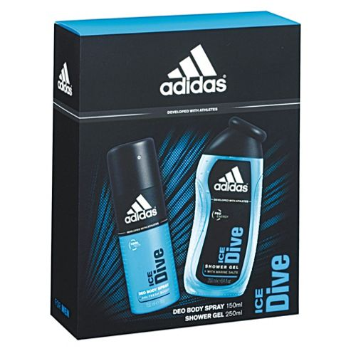 Adidas Ice Duo, deo body spray and shower gel