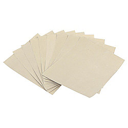 Tesco Value assorted sandpaper, 10 pack