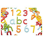 Carousel Stick On Bath Numbers and Letters