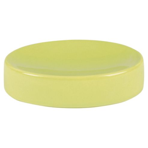 Tesco ceramic soap dish - green