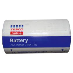 Tesco Value 2 pack C Batteries