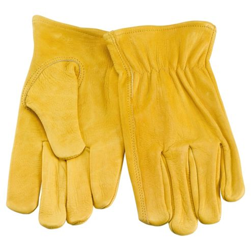 Premium Leather Garden Gloves L