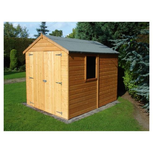 Finewood Warwick Double Door Shiplap Shed 8x6