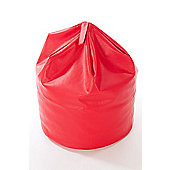 Kaikoo Faux Leather Beanbag, Red