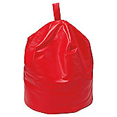 Kaikoo Faux Leather Bean Bag, Red