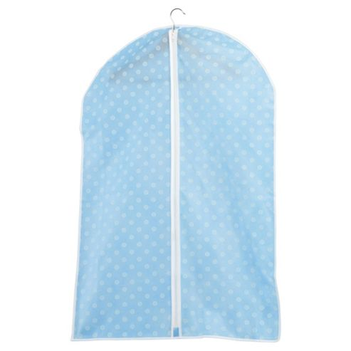 Pois Closed Suit/Dress Cover, 4 Pack Blue