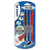 Pilot FriXion Erasable Pens, Assorted, 3 Pack