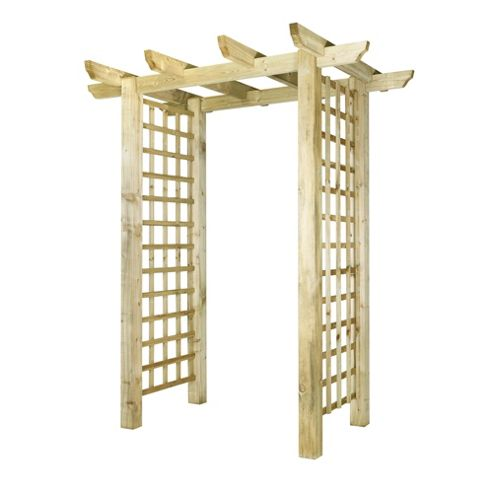 Pentridge Pergola - Includes Bolt Down Anchors