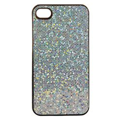 Orbyx Sparkling Hard Shell iPhone 4 White