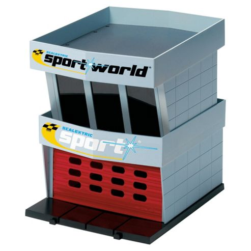 Hornby Scalextric C8321 Pit Garage Plastic 1:32 Scale Accessory