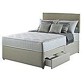 Silentnight Pocket Essentials Double 2 Drawer Divan Bed