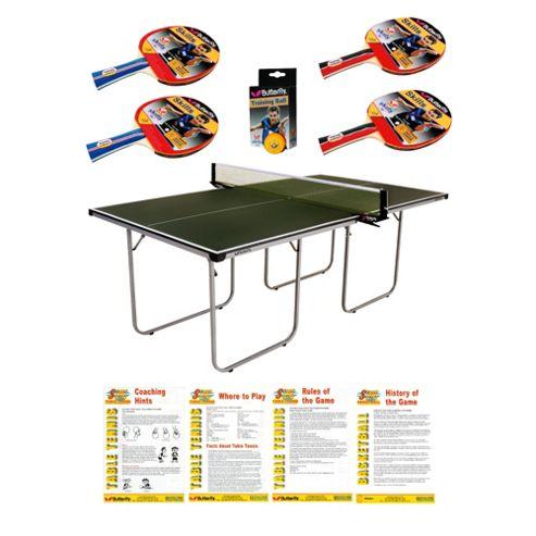 Butterfly Start Sport Table Tennis Table - Green