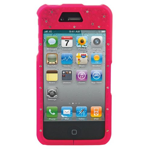 Bliss Hard Case iPhone 4/4S Pink Crown