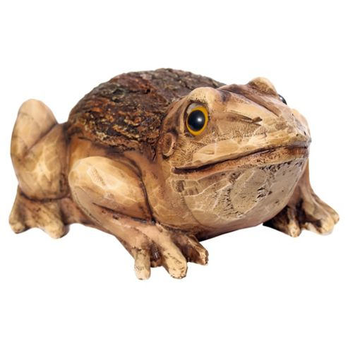 Woodland Friends Wooden Effect Frog
