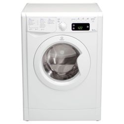 Indesit IWE81481 Washing Machine, 8kg Wash Load, 1400 RPM Spin, A+ Energy Rating. White