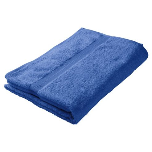 Tesco Bath Towel Electric Blue