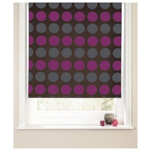 Spot Roller Blind 60x160cm Fuschia