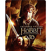 Hobbit Desolation of Smaug Extended Edition - Steelbook 3D Blu-Ray