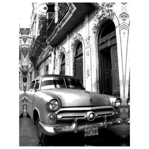 Cuba Car Canvas 77x57x2.5cm