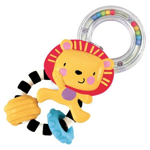 Fisher-Price Lion, Cupcake, Airplane or Car Key Rattle, Only 1 Supplied