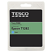 TESCO E1282 Cyan Printer Ink Cartridge (Compatible with printers using Epson T1282 Cartridge)